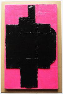 浮田要三 油彩『ピンクがキレイ』の写真